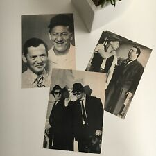 Vintage Comedy Duos Candid B&W Postcards Odd Couple Honeymooners Blues Brothers