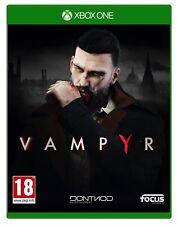 VIDEOGIOCO VAMPYR XBOX ONE GIOCO EU ITALIANO PRE ORDER UFFICIALE NUOVO X BOX