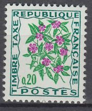 FRANCE TIMBRE TAXE NEUF N° 98 **  fleurs des champs pervenche