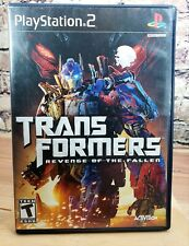 Transformers: Revenge of the Fallen - Playstation 2 Game