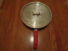 New listing Adcraft Sau-75 Huge pan with Lid Paa-32-C & Adcraft Rubberized Handle Cover Nsf