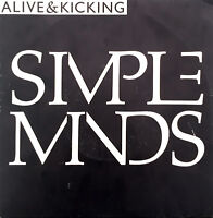 """Simple Minds 7"""" Alive And Kicking - France (VG/EX)"""