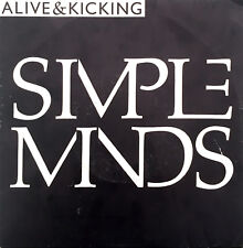 "Simple Minds ‎7"" Alive And Kicking - France (VG/EX)"