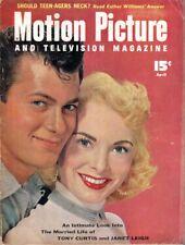 Motion Picture and Televison Magazine - April, 1954 - Revue Américaine de Cinéma