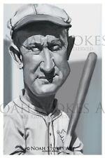 Ty Cobb Baseball Hall of Fame Sports Art Print by Noah Stokes