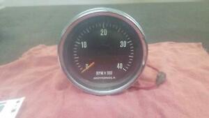 FD F SERIES Ford MOTOROLA GAS V8 TACHOMETER RPM 4000 75