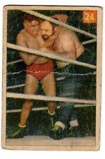 1X BIG BEN MORGAN 1954 55 Parkhurst #24 GVG Wrestling V337-1 NWA WWE WCW WWF