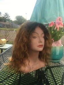 WAVY HUMAN HAIR LACE FRONT WIG USED