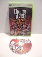 Guitar Hero Aerosmith Microsoft Xbox 360, 2008 XBOX LIVE