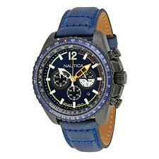 Orologio Nautica Cronografo uomo WR 10 ATM  Diver watch NMX1500 NAI22507G BLU