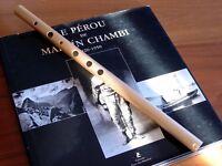 Quena Aluminio Dorada de Orquestín Peruana - Cuzqueña - Cusco Flute - Andes