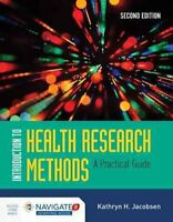 Introduction To Health Research Methods by Kathryn H. Jacobsen 9781284094381