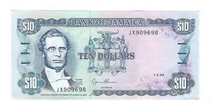 Jamaica - Ten (10) Dollars 1994