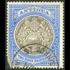 Antigua 1903-07 2.5d Grau Schwarz & Blau Sg 34. Verwendet. (AF181)