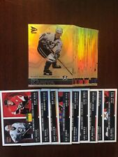 🏒 2001-02 McDonald's Pacific Complete Base Set #1-42 with Checklists 🏒