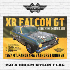 Musclecar 1967 Bathurst winner XR Falcon GT banner / flag
