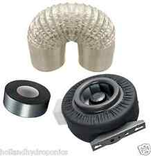 """4"""" CENTRIFUGAL DUCT FAN BLOWER+DUCTING+TAPE hydroponic Grow Tent Ventilation kit"""