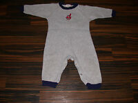 Cleveland Indians Baby Infant Creeper Romper Sleeper 24 Months MLB Fleece Nice