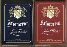 2 DECKS Aristocrat 727 Banknote playing cards