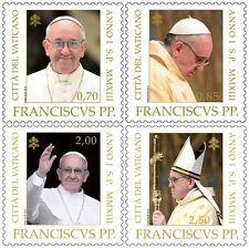 2013 Inizio del nuovo Pontificato - Vaticano - serie 4v