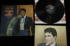 Elvis Presley FRANKIE AND JOHNNY - SOUNDTRACK LP 1966 MONO RCA INSERT! LPM-3553