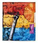"""JASPER JOHNS """"Red, Yellow, Blue, 2011""""  Beach Towel - Artist Edition"""