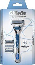 Gillette Skinguard Sensitive Starter Pack 1razor +3 extra blades - new