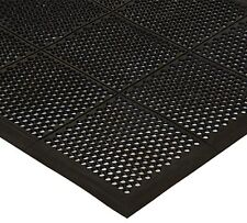 Winco RBMM-35K, 3x5x3/8-Inch Grease-Resistant Anti-Fatigue Beveled Rubber Floor