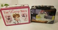 I Love Lucy Collectible Metal Tin Lunch Boxes Lot of 2- MC6