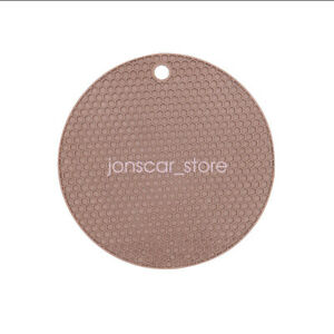 "7"" Silicone Trivet Mat Hot Pads Non-slip Silicone Honeycomb Pot holder Mat 2PCS"