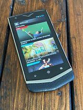 Genuine Vertu Constellation V Android Luxury Phone in Black Super RARE Must Have