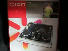 2009 Ion iCue Computer DJ System Disc Jockey Music Control Mixing Console