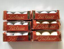 Vintage 18 Balls Titleist 384 DT 90 Golf Balls State Farm Insurance Made in USA