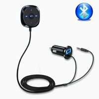 Bluetooth Car Kit Hands-free Cigarette Lighter MP3 A2DP 3.5mm AUX Audio Music TA