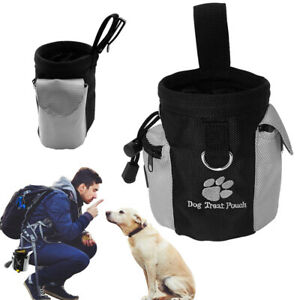 Dog Treat Pouch for Training Outdoor Snack Storage Poop Bag Dispenser Hands Free
