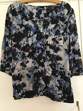 Ladies Next Blouse Size 12. Blues