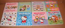 Hello Kitty 8 Classic Board Books Set