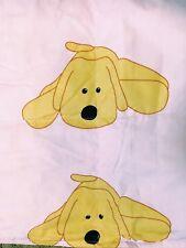 Cartoon Dog Baby Down Blanket: Pink