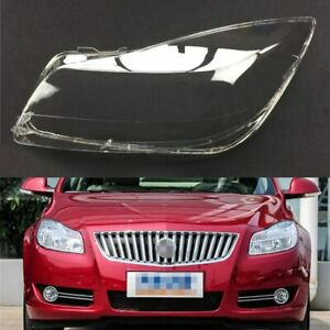 For Buick Regal 2009 ~ 2013 Car Headlight Headlamp Clear Lens Auto Shell Cover
