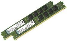 KINGSTON Low Profile 8GB DDR3 (2X 4GB) 1RX8 PC3 10600U 1333  Desktop Memory Ram