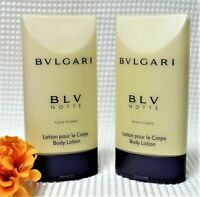 Bvlgari BLV Notte Pour Femme 2.5oz (2 Pc Pack) Body Lotion  {No Box}