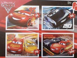 4 Puzzles CARS Ravensburger