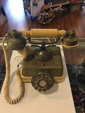 Retro Radio Shack French Continental Model Number 43-320A  Rotary Phone -Working