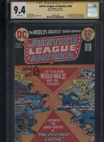 Justice League of America #108 CGC 9.4 SS Len Wein 1973 FREEDOM FIGHTERS