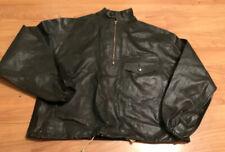 true vtg very rare 1930s 40s HARLEY DAVIDSON waterproof rubber motorcycle jacket