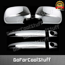 For Toyota Tacoma 05-10 2Drs Handle W/Psgkh+Mirror 2Pc Chrome Covers