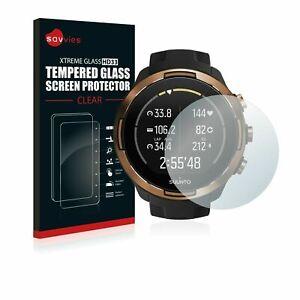 Suunto 9 Baro, Savvies® Xtreme Glass HD33 Tempered Glass Screen Protector