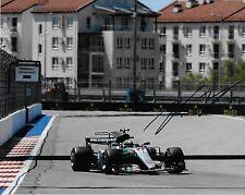 Autographed Mercedes driver Valtteri Bottas signed 8x10 2 Photo Formula 1