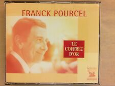 RARE COFFRET 5 CD / FRANCK POURCEL / LE COFFRET D'OR / EXCELLENT ETAT