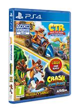 Crash Bandicoot N. Sane Trilogy & Crash Team Racing Nitro-Fueled Double Pack ...